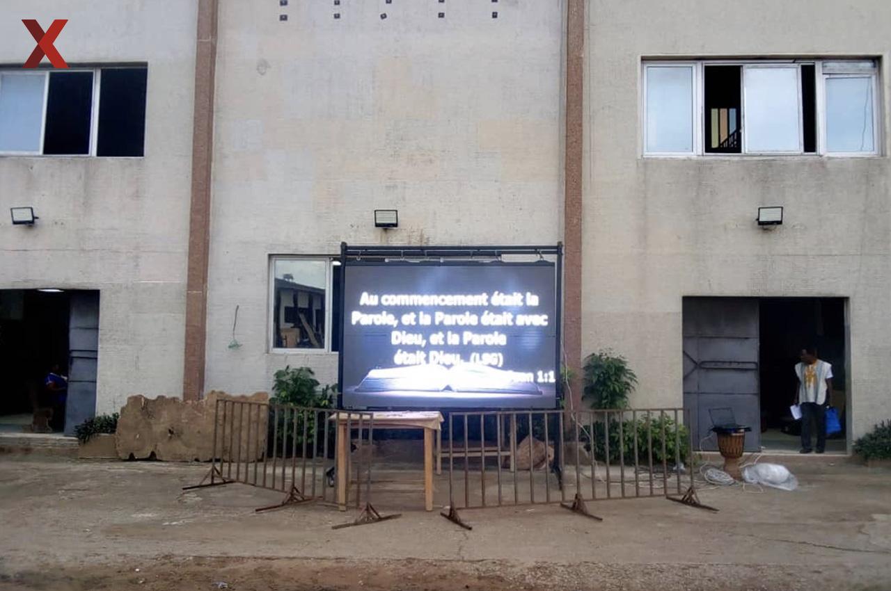 Yopougon Gare, . Pantalla Outdoor 3x2 P5