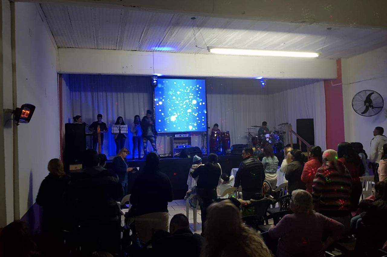 Florencio Varela, . Pantalla Indoor 2x2 P5