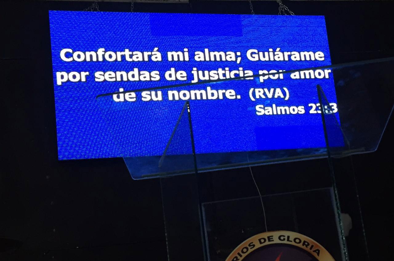 Lomas de Zamora, . Pantalla Indoor 2x1 P5