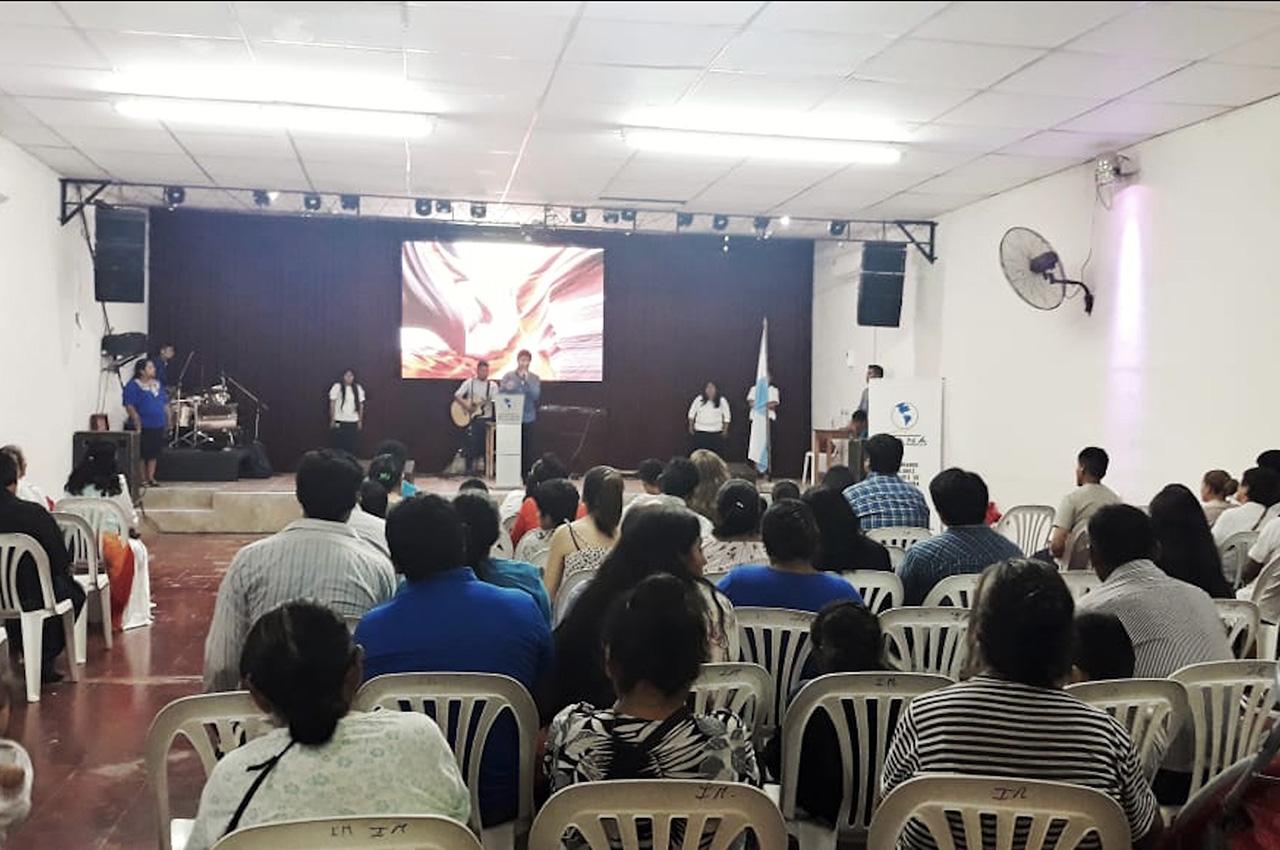 San Salvador, . Pantalla Indoor 3x2 P5
