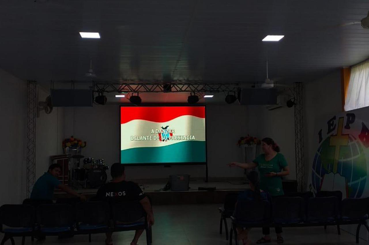 Trinidad, . Pantalla Indoor 3x2 P5