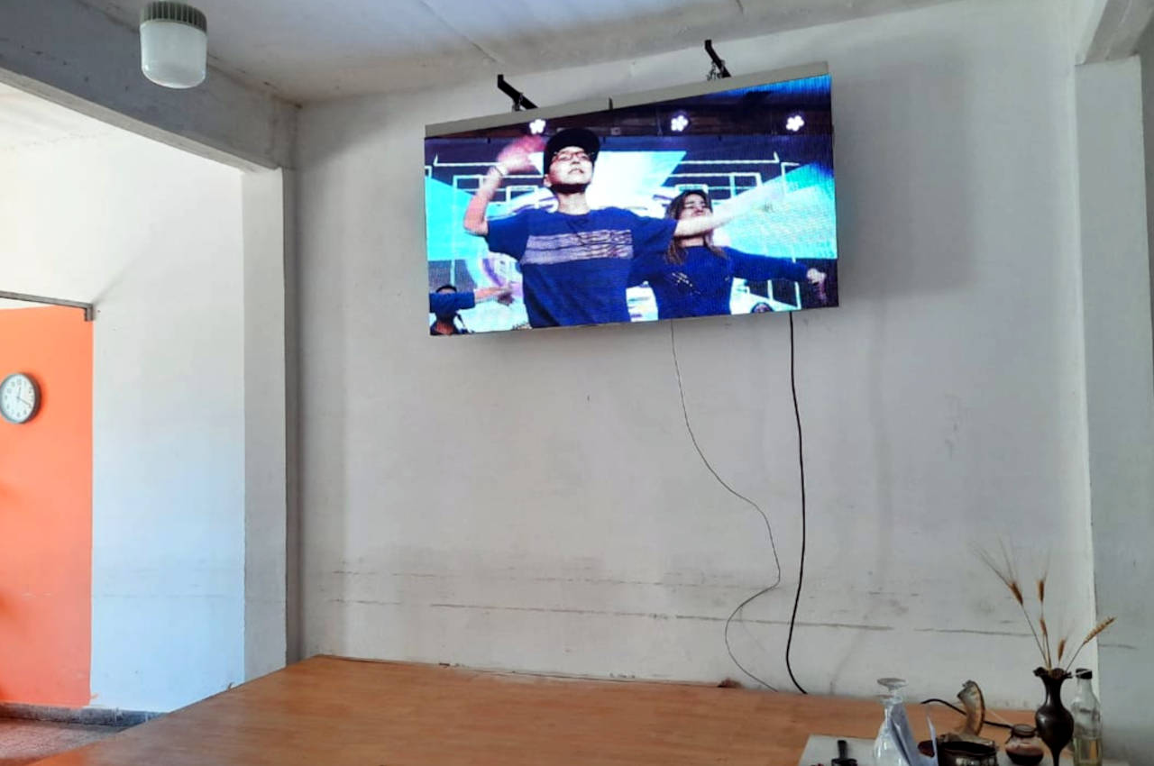 Tortuguitas, . Pantalla Indoor 2x1 P5