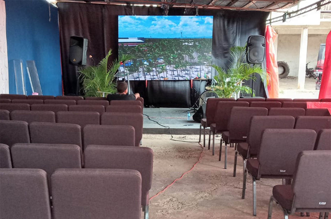 Bayaguana, . Pantalla Indoor 3x2 P5
