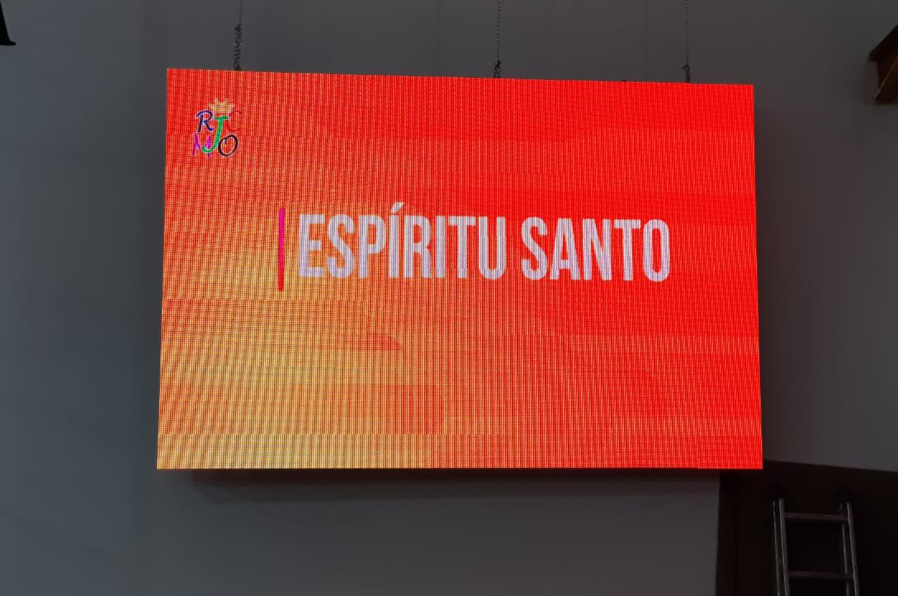 Brandsen, Buenos Aires , . Pantalla Indoor 3x2 P5