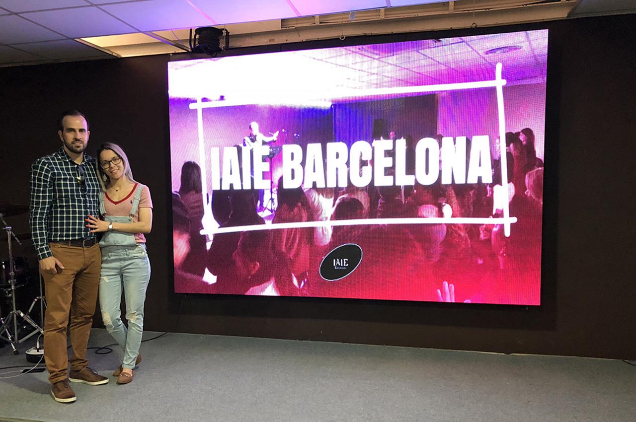Barcelona, . Pantalla Indoor 3x2 P5