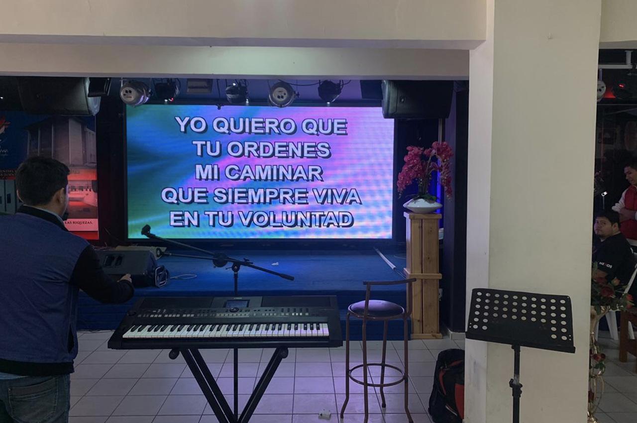 Santa Cruz de la Sierra, . Pantalla Indoor 4x2 P5