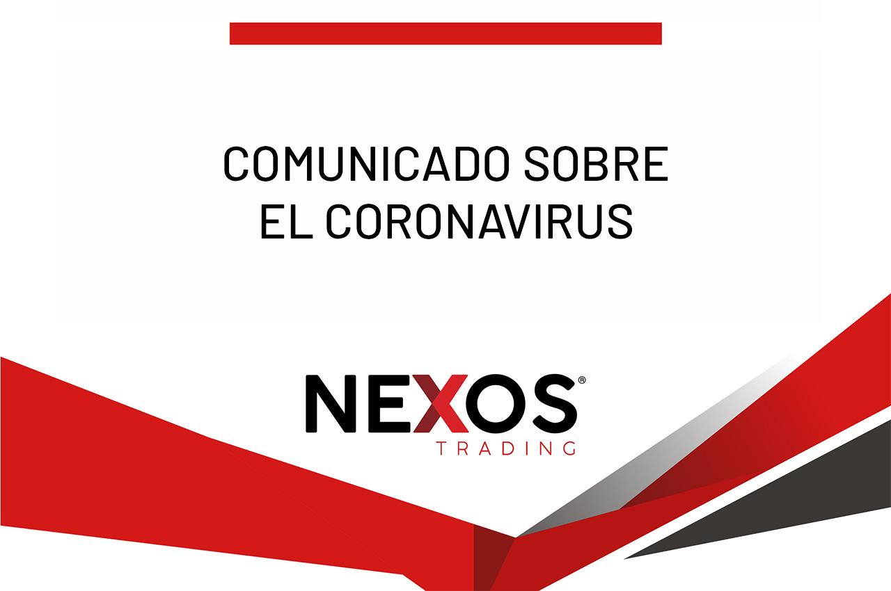 Comunicado de Nexos Trading.