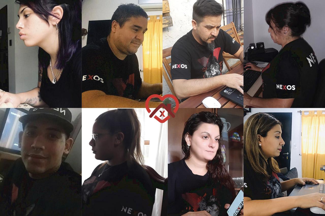 Gran trabajo del equipo de Nexos en Argentina.