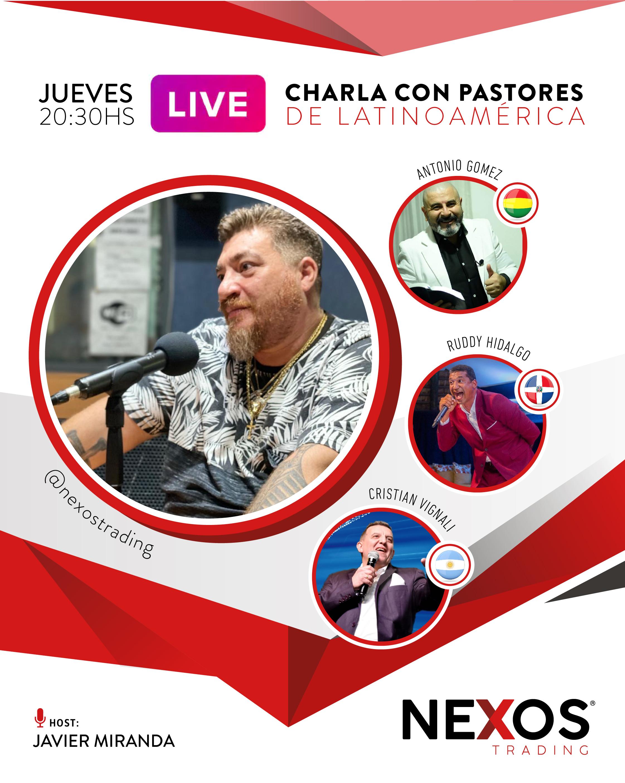 Charla con pastores de Latinoamérica.