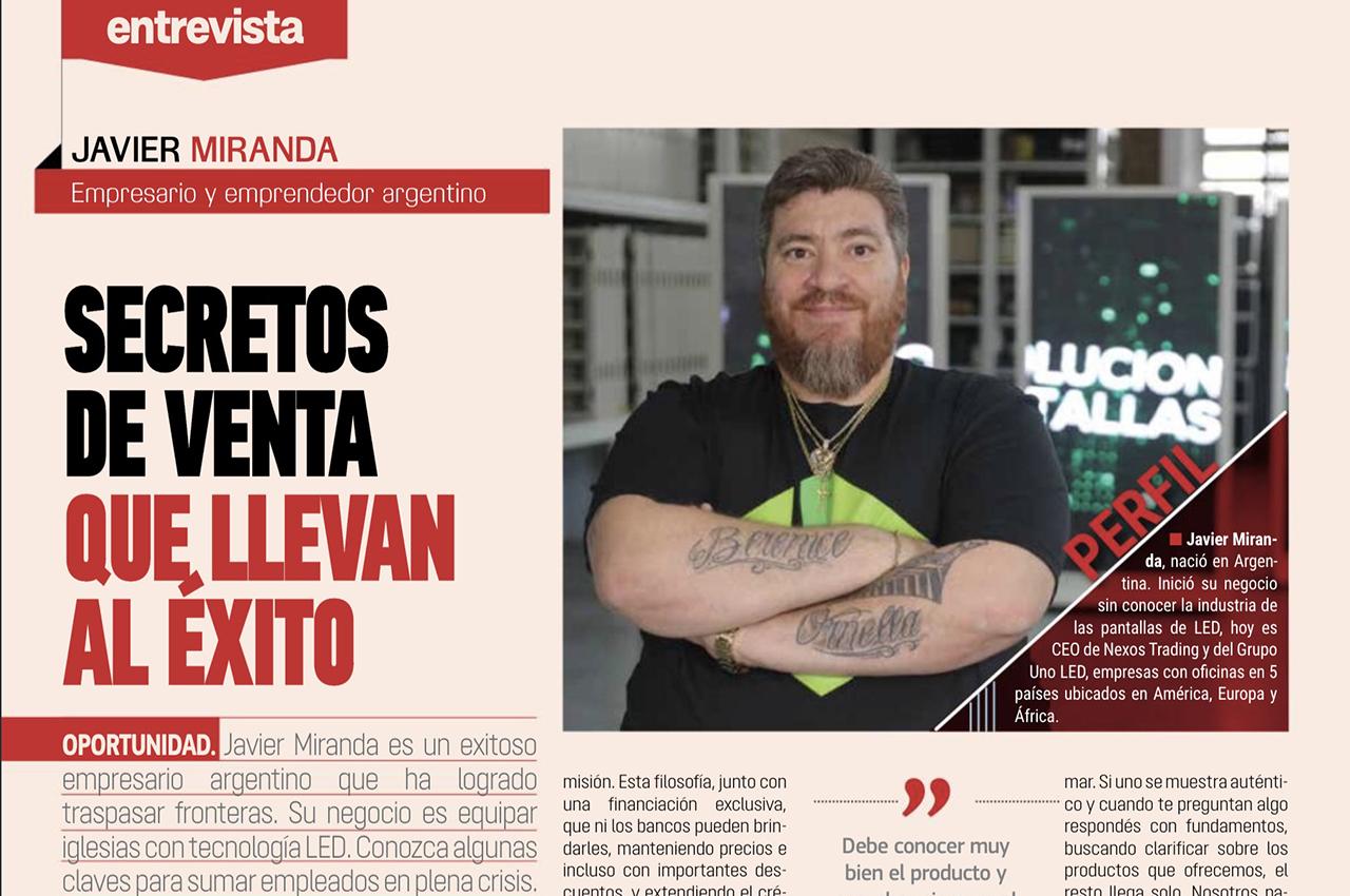 Importante entrevista a Javier Miranda.