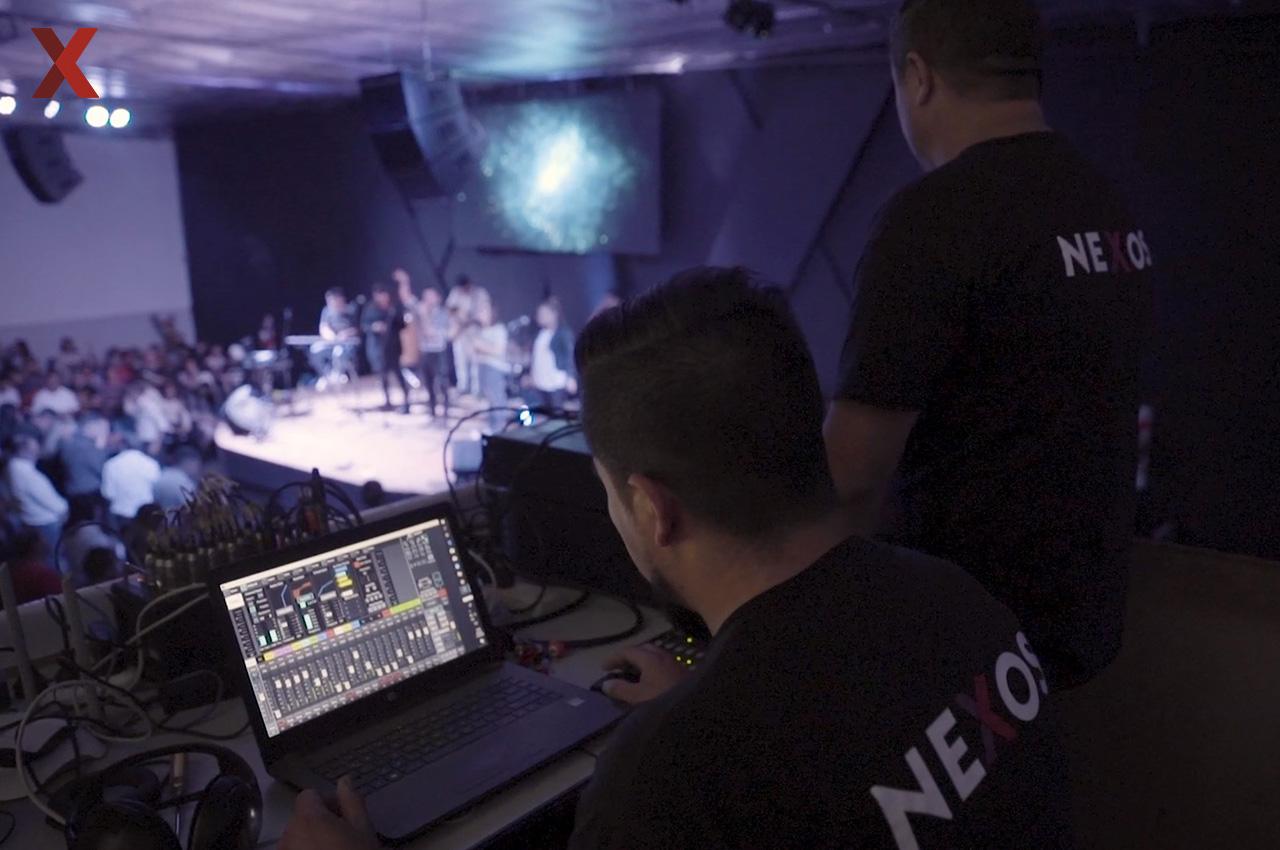 Nuevo sistema de sonido Line Array con financiación exclusiva para iglesias.