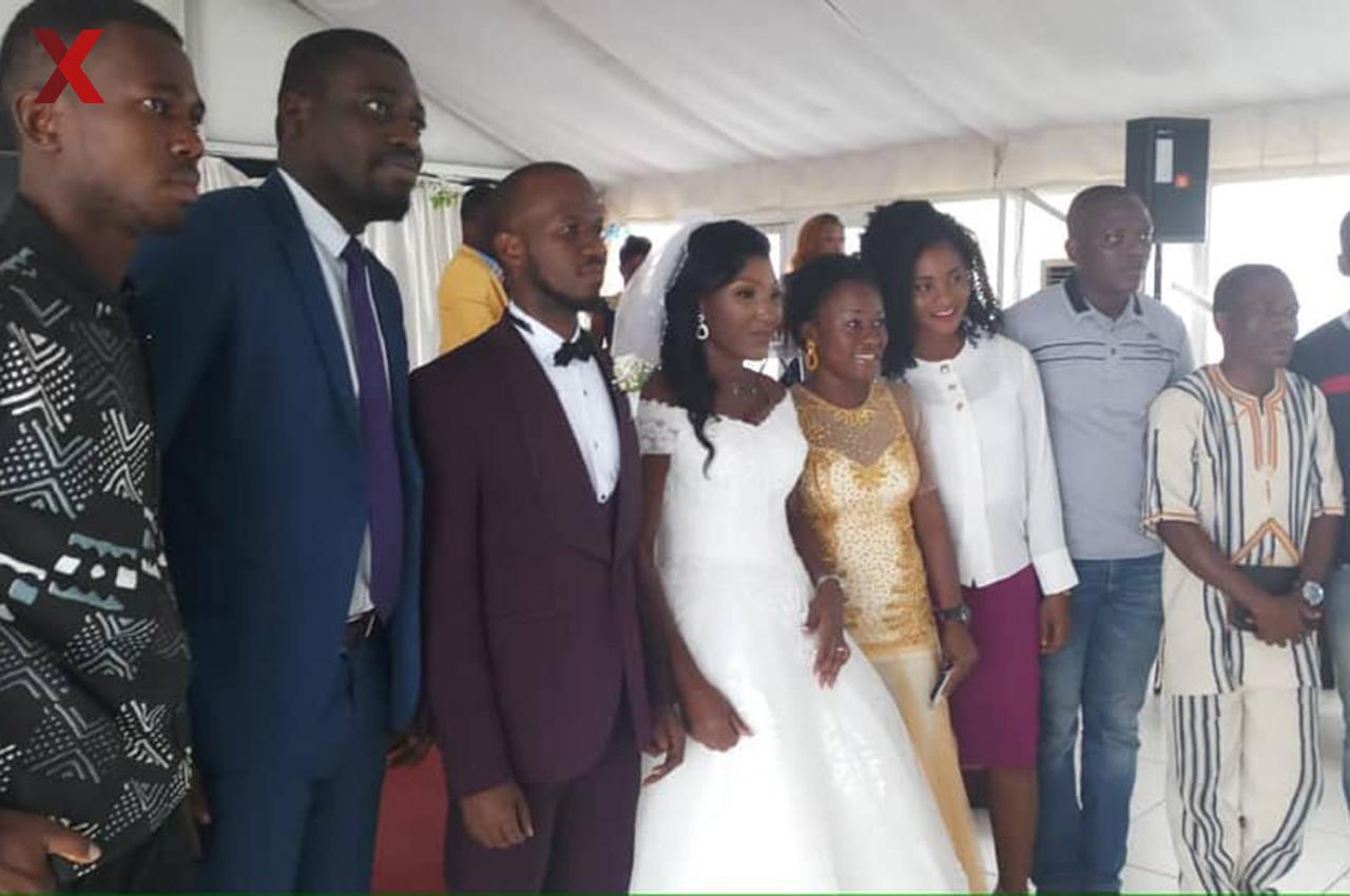Celebramos el casamiento de Carol, integrante de Nexos Costa de Marfil.