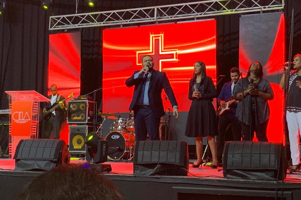 Nexos presente en la Cumbre Apostólica en Santo Domingo.